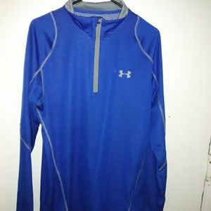 Mens Under Armor Fitted Cold Gear top